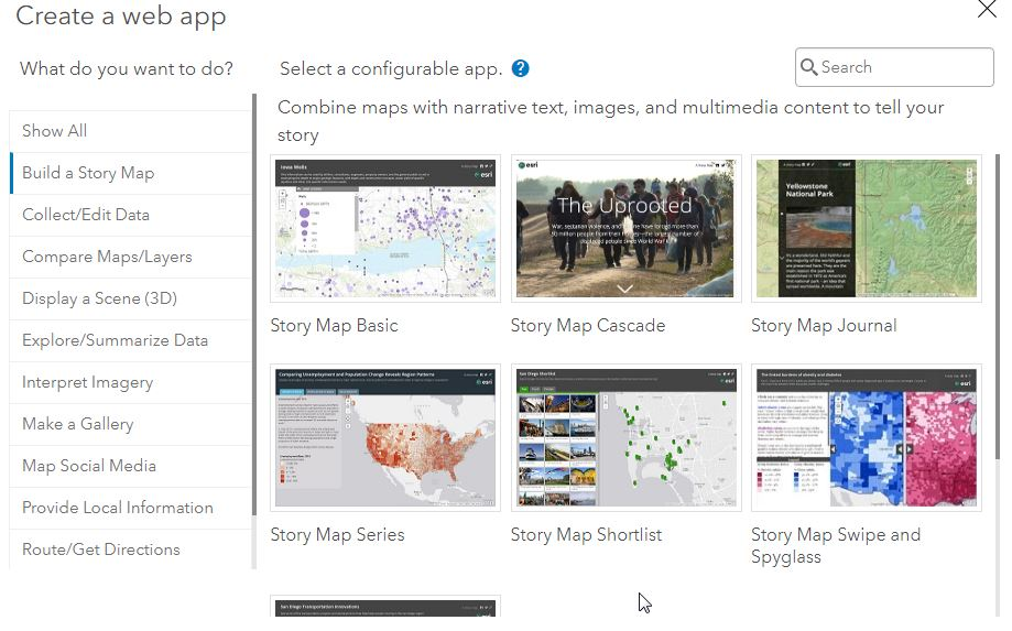 Creating Story Maps Just Got Easier with the New Look, ArcGIS