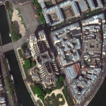 Satellite Imagery: Before/After of Notre Dame Cathedral Fire
