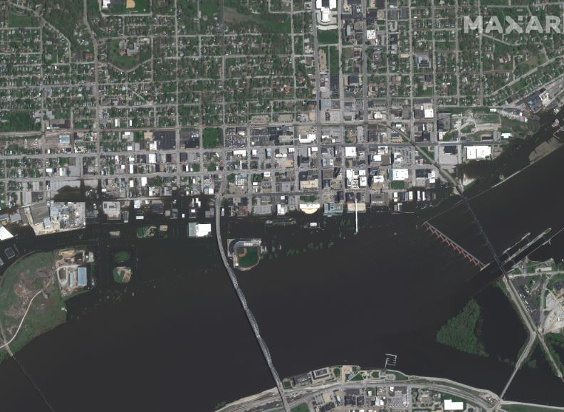 Maxar Technologies Collected New Satellite Imagery Of