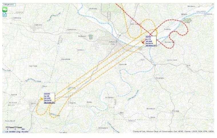 Missouri's Geospatial Community Reacts with Emergency Tornado Mapping of Jefferson City, MO