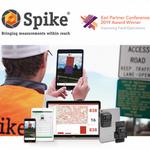 ikeGPS to showcase Spike at Esri UC – Winner of the 2019 Esri Partner Conference Improving Field Operations Award