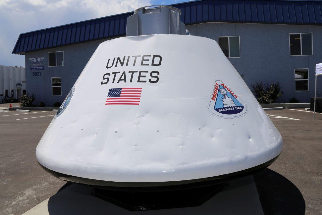 SAS Apollo capsule