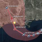 Live Location Intelligence Provides Insights into Communities in Hurricane Barry's Path