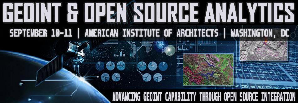 GEOINT & Open Source Analytics Summit