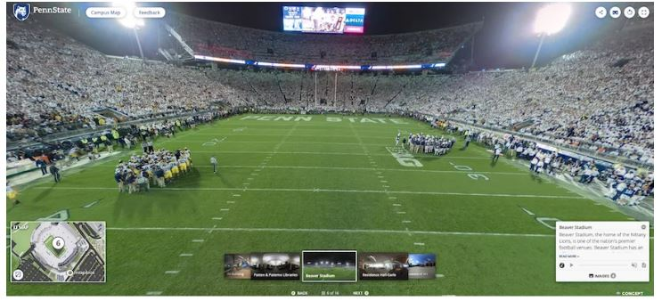 Concept3D Platform Selected by Penn State for System-Wide