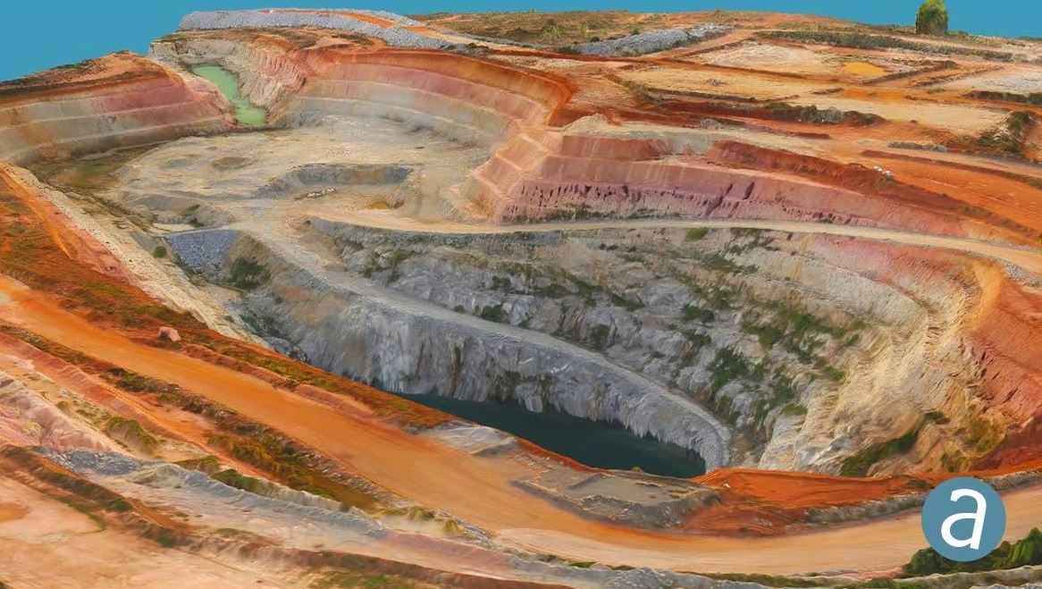 SimActive Software Used for Gold Mine Mapping - GISuser com