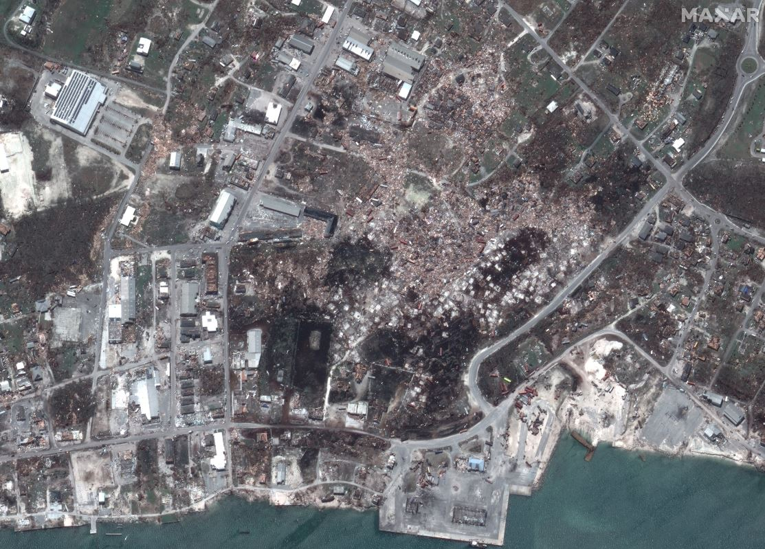 Satellite Imagery: Hurricane Dorian Damage in the Bahamas