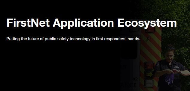 The FirstNet Application Ecosystem