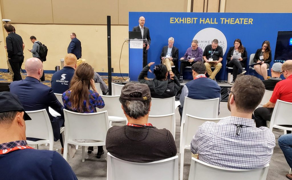 A2Z, Agrowing, and SolSpec win Pitch the Press at Commercial UAV Expo Americas 2019