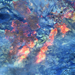 Maxar Collects satellite imagery of the Kincade fire #California #Wildfire