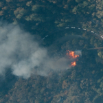 GIC Collects Imagery over Kincade Fire in Sonoma County