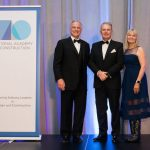 National Academy of Construction inducts Ray O'Connor, president and CEO of Topcon Positioning Group