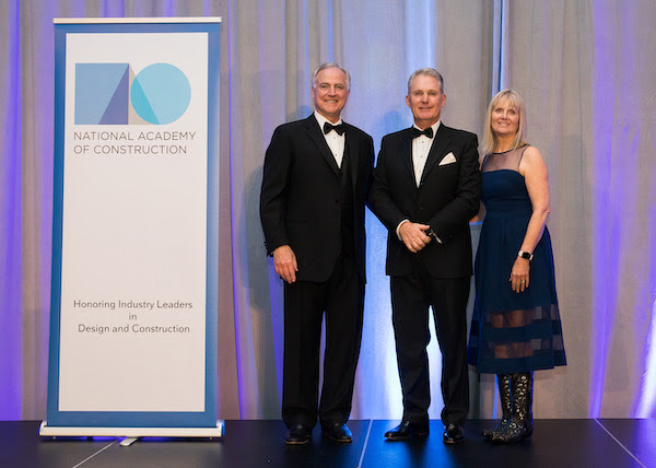 National Academy of Construction inducts Ray O'Connor