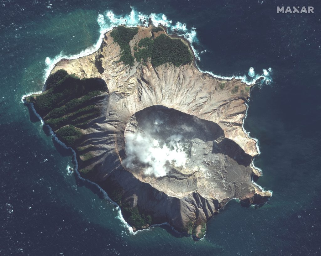Satellite Imagery: White Island, New Zealand Volcano ... on map of north island, map of south new jersey, map of hong kong, map of new zealand south pacific, map of southern alps, map of tasman sea, map of christchurch, map of long island new york, map of south america countries and capitals, map of parris island south carolina, christchurch new zealand, map of new south wales, detailed maps new zealand, map of south america and central america, rotorua new zealand, map of beaches, southern island of new zealand, map of mountains, map of australia, map of new jersey cities and towns,