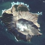 Satellite Imagery: New Zealand Volcano
