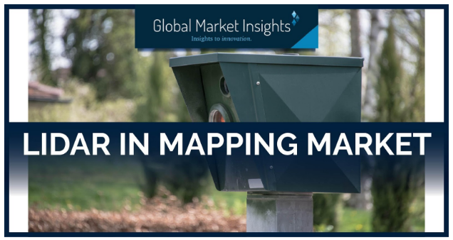 LiDAR in Mapping Market to Cross $4 Billion by 2026