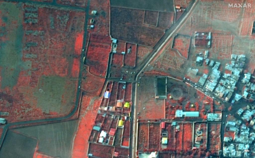 Satellite Imagery: Ukrainian Airlines Crash Location in Iran