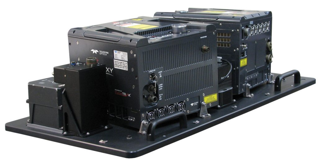 Optech G2 sensor system delivers a PRF of up to 4 MHz with two airborne lidar sensors