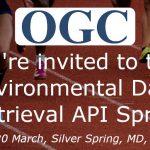 OGC Invites Developers to its Environmental Data Retrieval API Sprint
