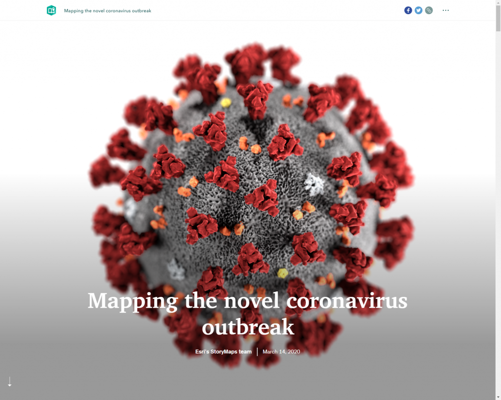 Mapping the novel coronavirus outbreak