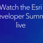 Events – Esri Announces that DevSummit 2020 will be a virtual livestream event