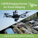 LIDAR/Imaging Sensor for Drone Mapping