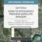 SimActive Announces Webinar: How to Efficiently Process Satellite Imagery