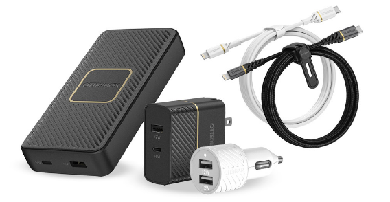 Power Up with OtterBox Power Banks, Cables and More