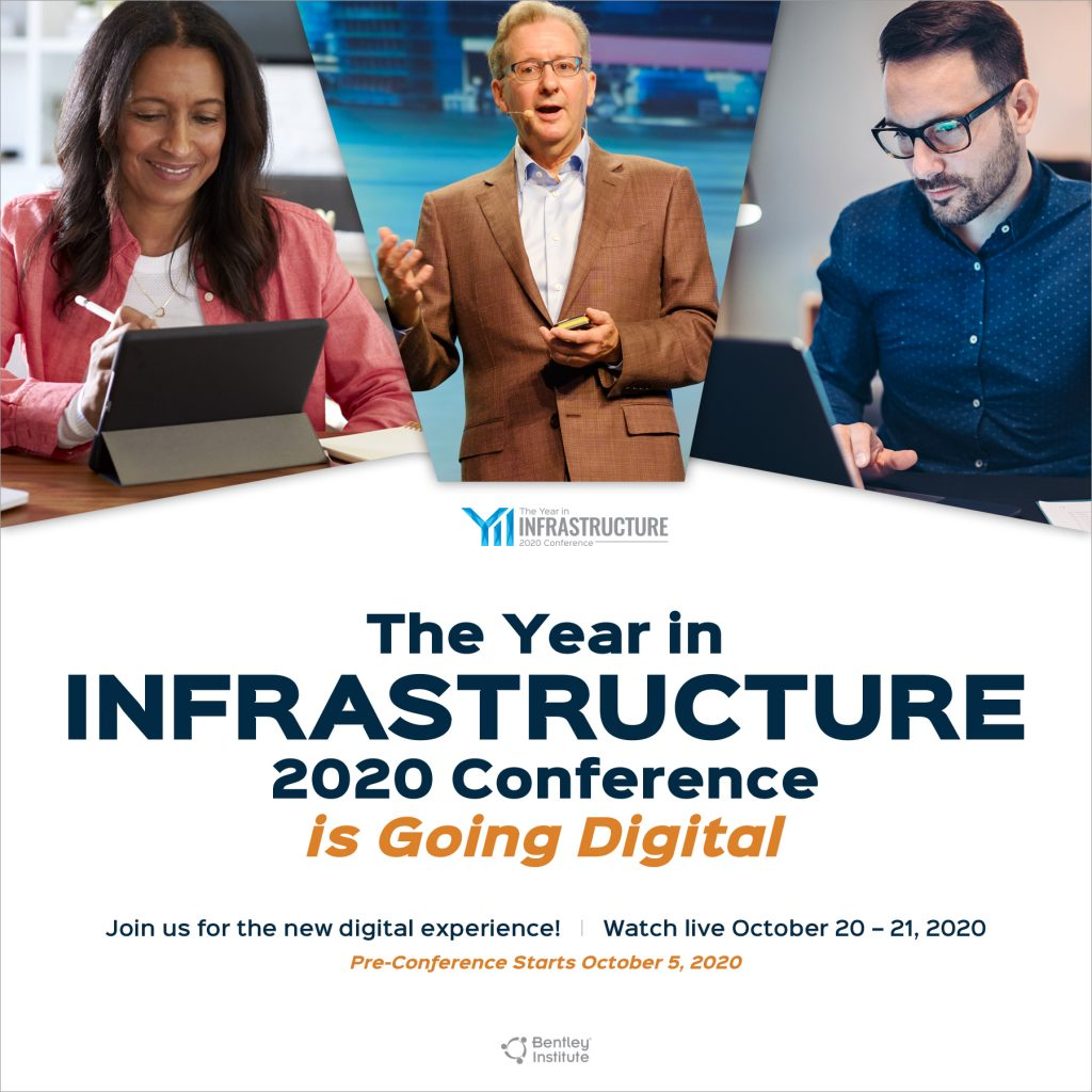 The Year in Infrastructure 2020 Conference is Going Digital