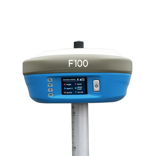 Geneq Inc. Announces F100 the New Highly Integrated GNSS Receiver With a Multi-touch Screen