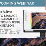 Webinar – How to Manage Photogrammetric Production During Peak Season