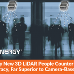 Quanergy New 3D LiDAR People Counter Delivers 98% Accuracy, Far Superior to Camera-Based Systems