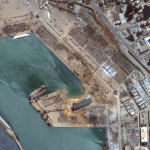 Beirut Explosion: Maxar Technologies, Before-and-After Satellite Imagery