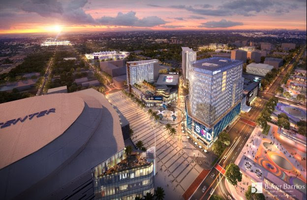 Orlando Sports & Entertainment District (image supplied by Baker Barrios Architects Inc)
