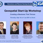 IGARSS 2020 Hosts Geospatial Business Startup Workshop