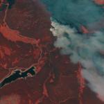 Satellite Imagery via Maxar : Cameron Peak Wildfire, Colorado