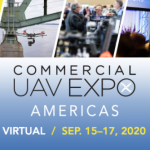 2020 Commercial UAV Expo Americas to Take Place Virtually Next Week