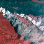 Satellite Imagery from @Maxar : Cameron Peak Wildfire, Colorado