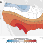 U.S. Winter Outlook: Cooler North, warmer South with ongoing La Nina