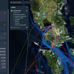 Aspectum visualizes and analyzes maritime connections between the Philippine central islands