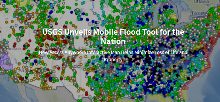 USGS Unveils Mobile Flood Tool for the Nation