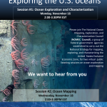 NOMEC Council Seeks Public Input on Ocean Mapping, Exploration, and Characterization Efforts in the U.S. EEZ