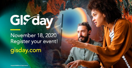 GIS Day 2020 Will Be Celebrated Virtually