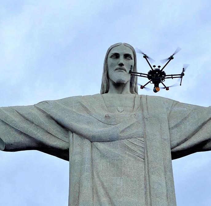 3D laser scan reveals Christ the Redeemer