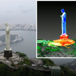 3D laser scan reveals Christ the Redeemer as you've never seen it before