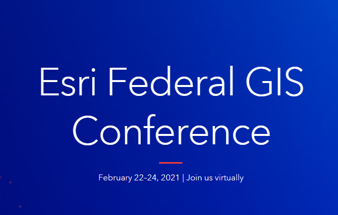 Esri Federal GIS Conference