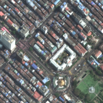 Satellite Imagery: Protests In Yangon, Myanmar