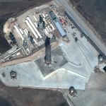 Satellite Imagery @Maxar : SpaceX Starship SN10 Hours Before Launch