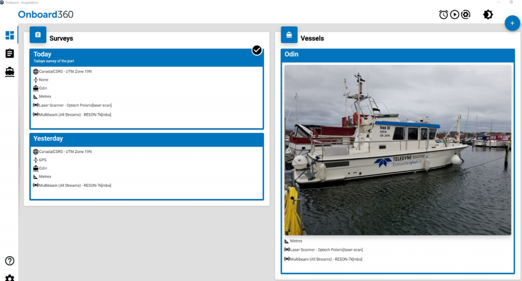 Teledyne CARIS' Onboard360 software now featuring CARIS Collect data acquisition module completes the Ping-to-Chart workflow