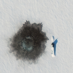 Satellite Imagery via @Maxar : Russian Nuclear Submarines Through Arctic Ice
